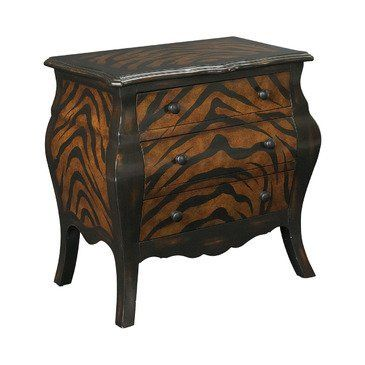 Accent Chest Hidden Treasures - Hammary T00071-T73708-00 by Hammary. $279.39. 3 Drawers; Hand Painted Zebra Pattern on Top; Sides and Drawer Fronts; 3 Drawers, Hand Painted Zebra Pattern on Top, Sides and Drawer Fronts; Length 16.00. Hidden Treasures Accent ChestHeight 30Width 24.00Finish OtherStyle Old World ContemporaryMaterial Wood. Save 44%!