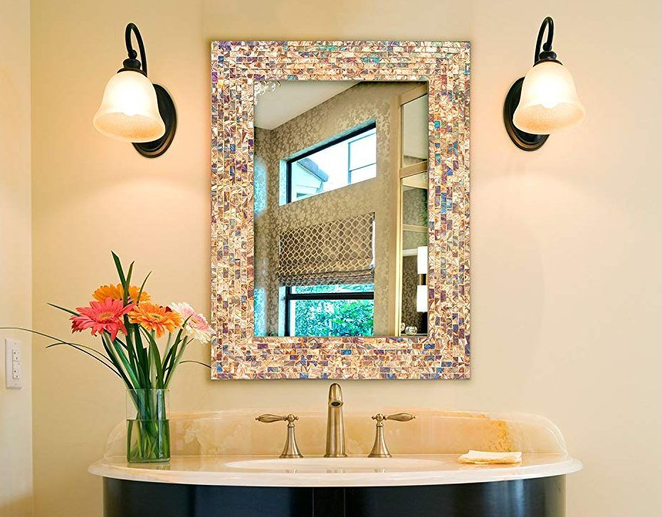 32 Stylish Bathroom Mirror Ideas 2020 Updates Bathroom