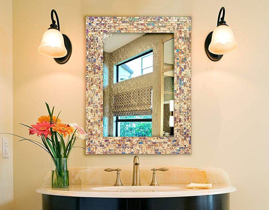 32 Stylish Bathroom Mirror Ideas To Inspire You Bathroom Mirror