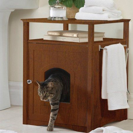Pets Space Saving Furniture Litter Box Covers Litter Box
