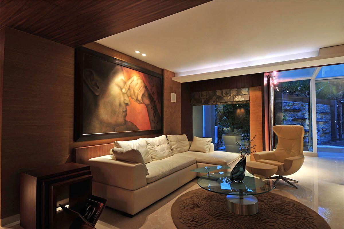 Three Story Home Mumbai India By Zz Architects Bungalow Living