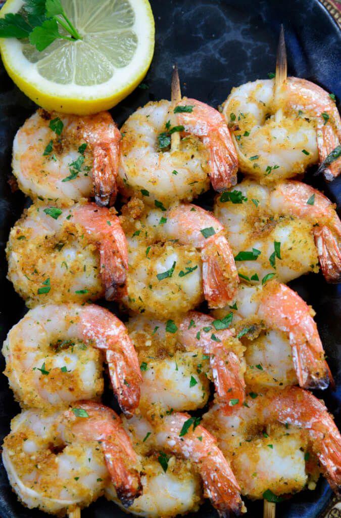 Shrimp Brochettes Now Find Gluten Free Recipe Shrimp Brochette Dinner Appetizers Brochette Recipe
