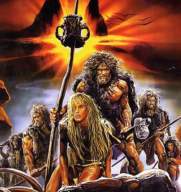 5 16 17 5 48p Vhs Cover Art For The Clan Of The Cave Bear Imdb