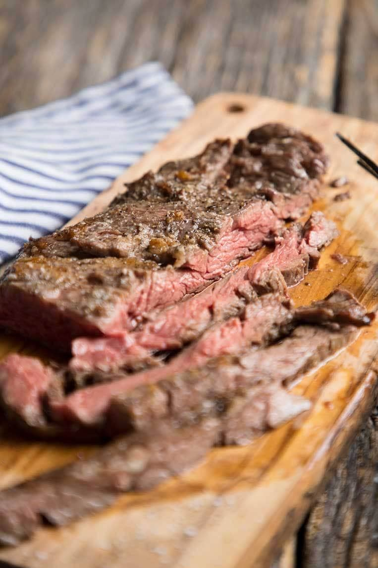 How to broil skirt or flank steak #recipesforflanksteak
