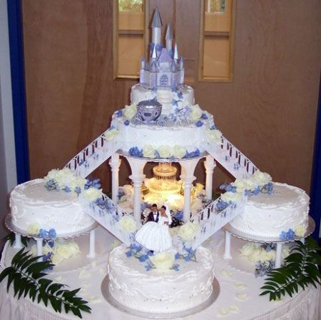 Disney Wedding Cakes happiness by serving the Disney wedding