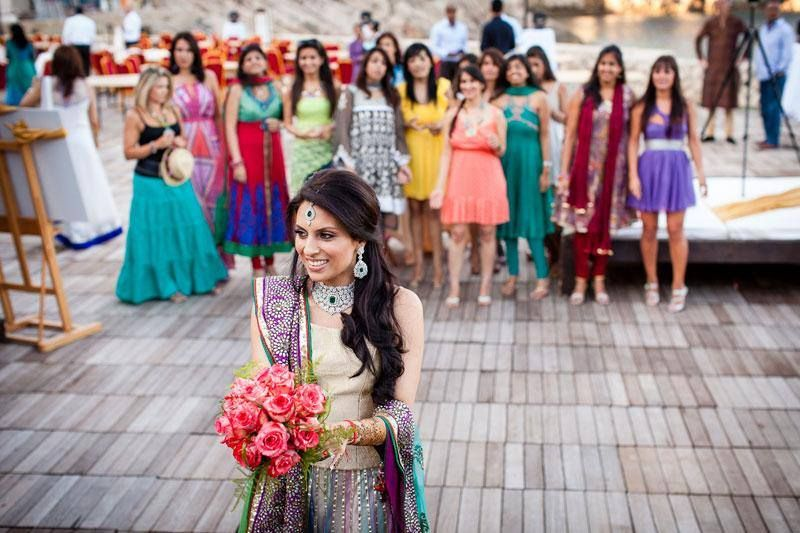What Colours Not To Wear To A Wedding: Have You Been Invited To Your First Indian Wedding? Not