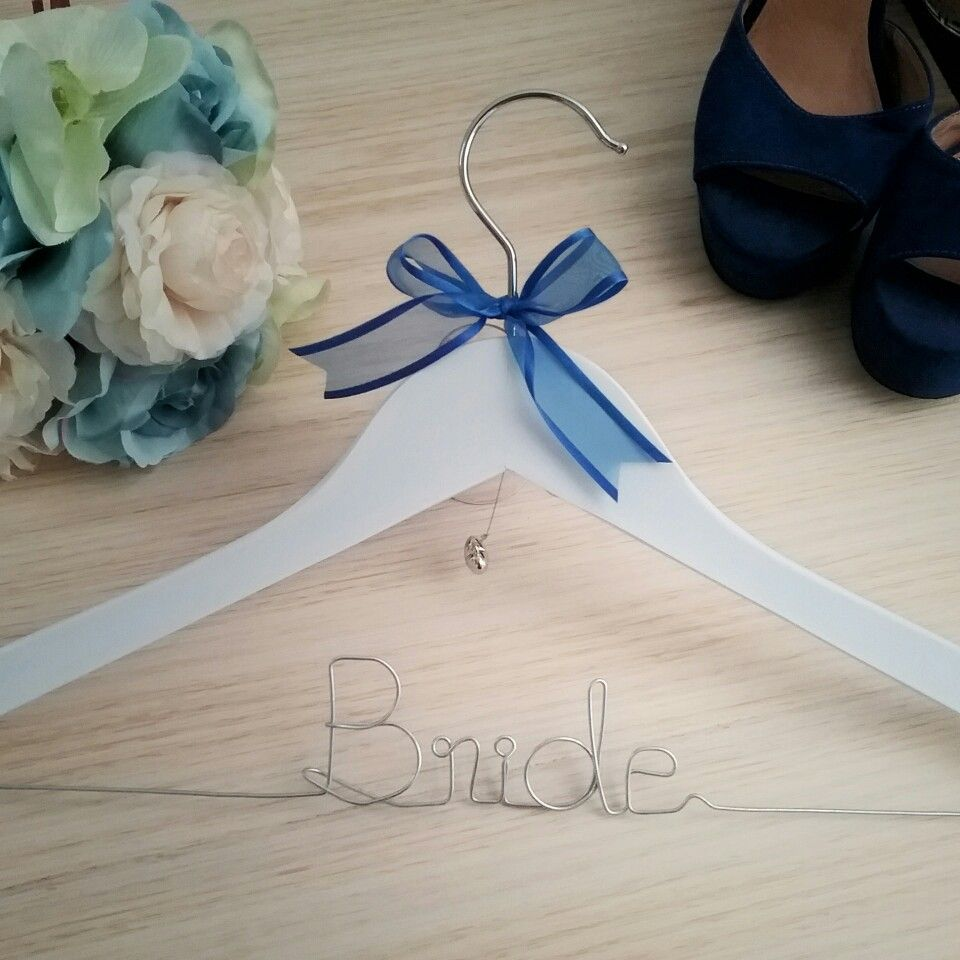 Bride Hanger Wedding Coat For Australian Brides Personalised Gift By