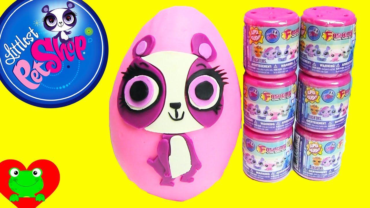 Lps Fashems Play Doh Surprise Penny Ling Littlest Pet Shop