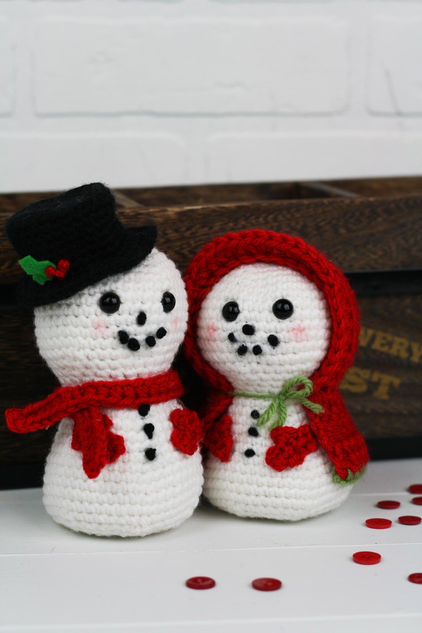 Crochet plush snowman | Crochet christmas decorations, Christmas ... | 2048x1365