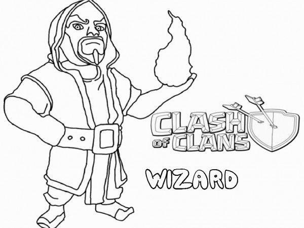 ausmalbilder clash of clans kostenlos   Ausmalbilder ...