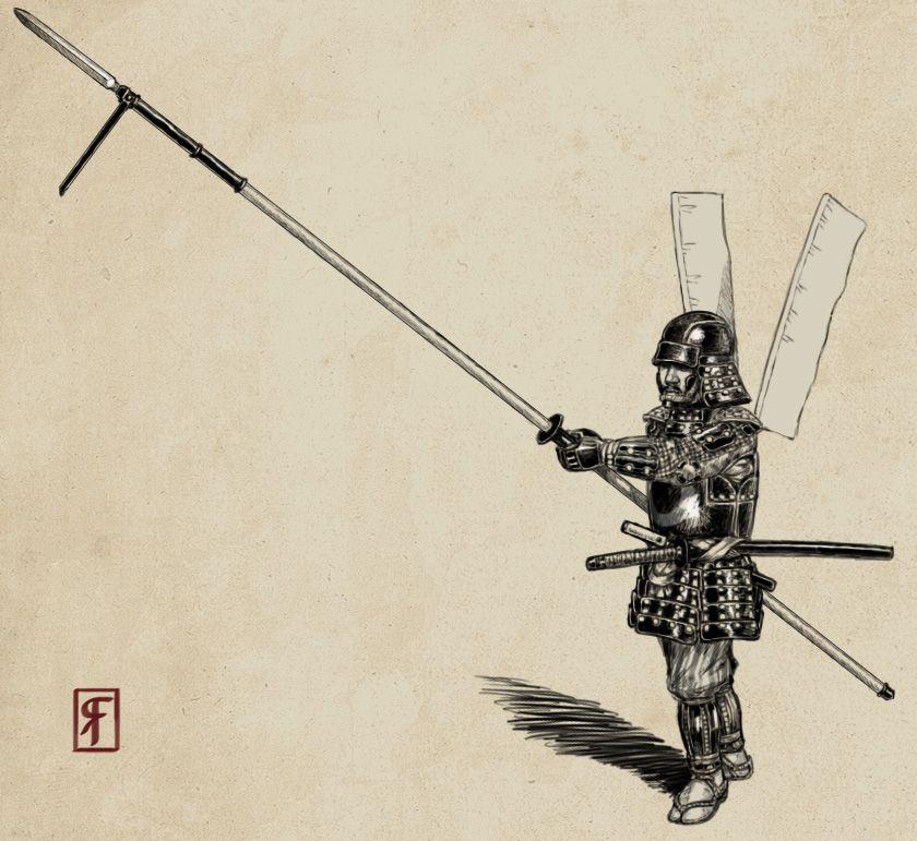 image yari - Google-haku | Samurai warrior, Samurai ...