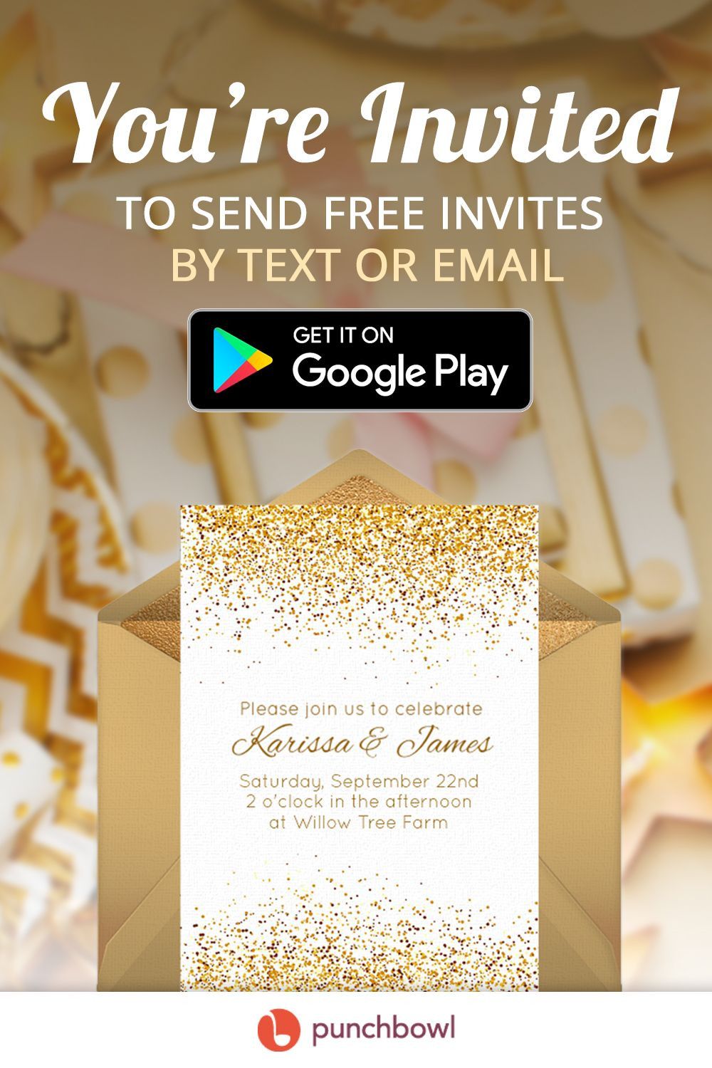 Send Free Engagement Party Invitations By Text Message Right