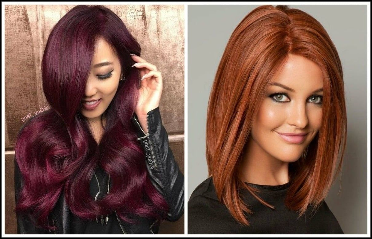 red hair color for warm skin tones - best hair color for