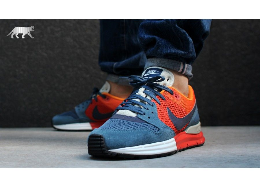 Nike Lunar Pegasus 89 - New Slate/Medium Navy/Rusty Factory/Kumquat Wholesale
