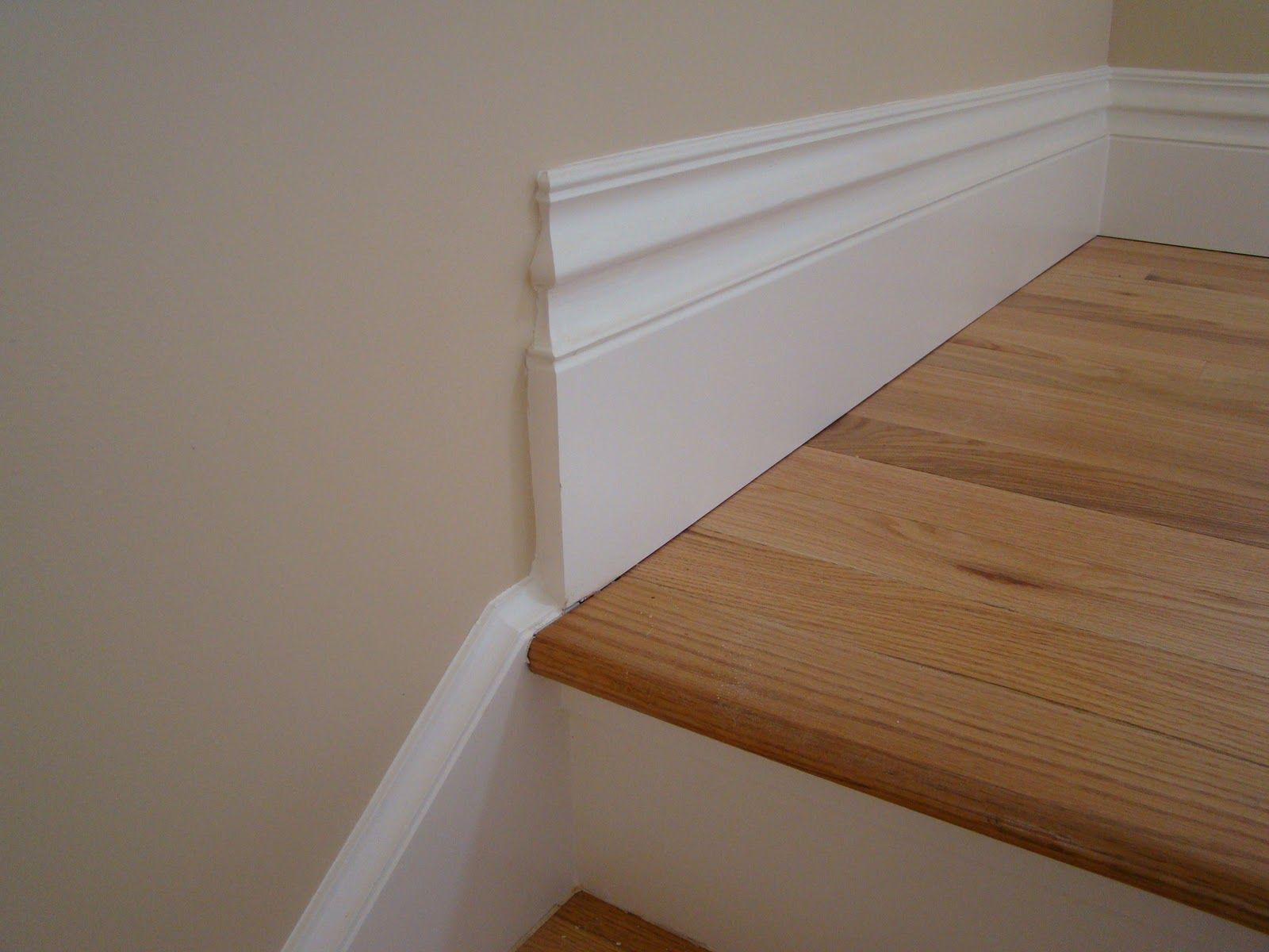 base to skirt transition Trim and moulding Pinterest