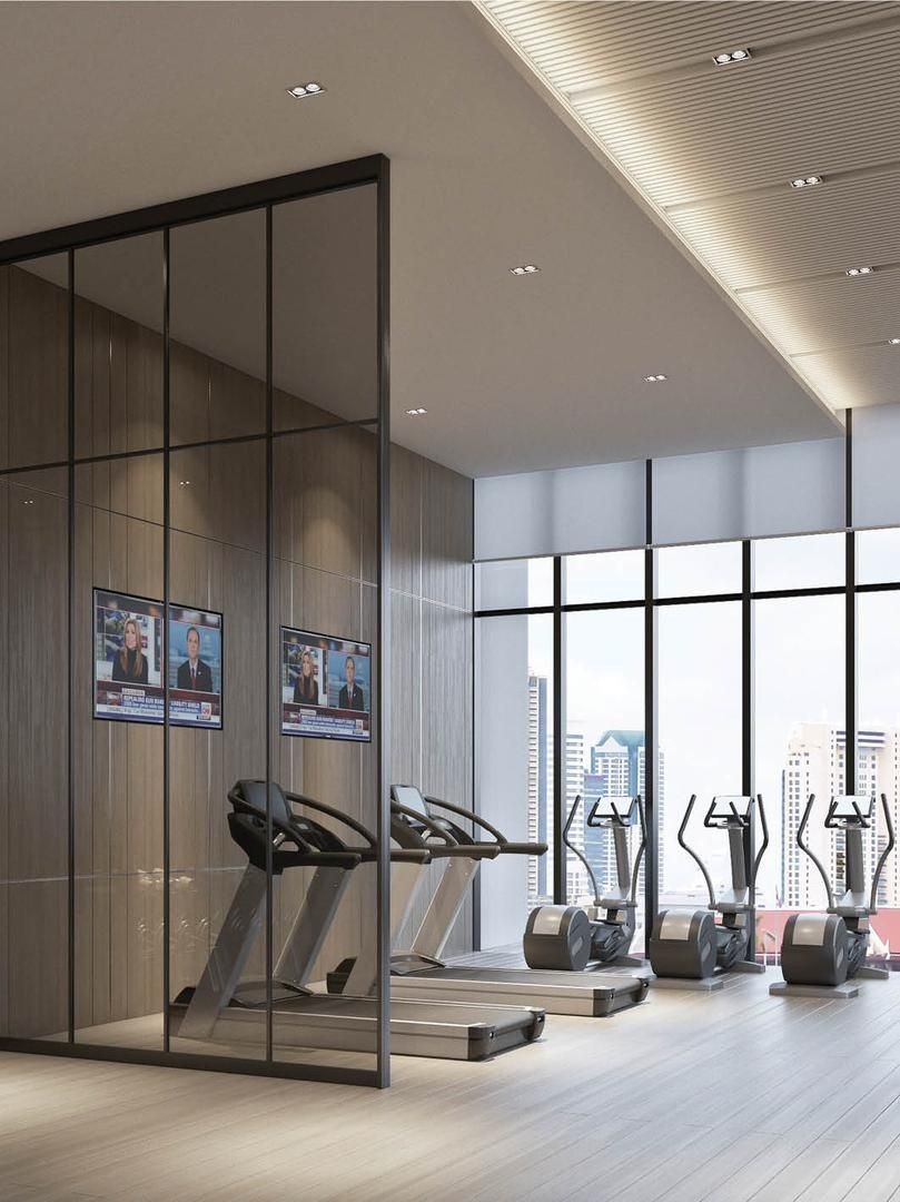 Gym Room At Home, Gym Interior