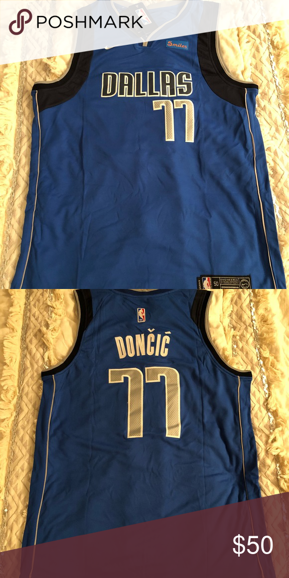 best loved 7ac3e d259d Luka Doncic Dallas Mavericks #77 Nike Jersey Brand New ...