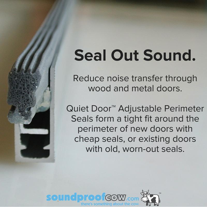 Quiet Door™ Door Sweep Door sweep, Door sealing, Sound
