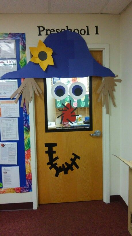 September classroom door