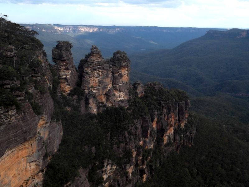 Check out the iconic view of the Three Sisters