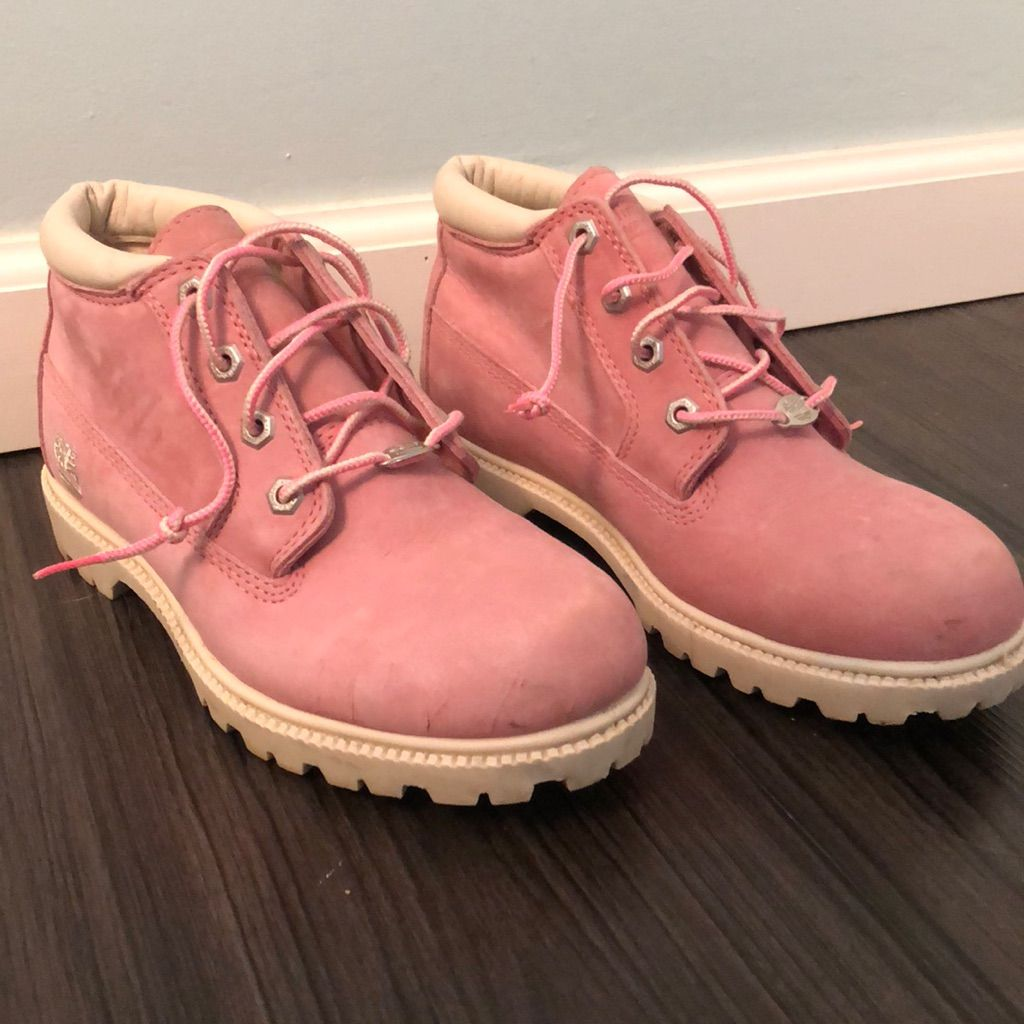 Timberland Shoes | Timberland Boots | Color: Pink | Size: 8