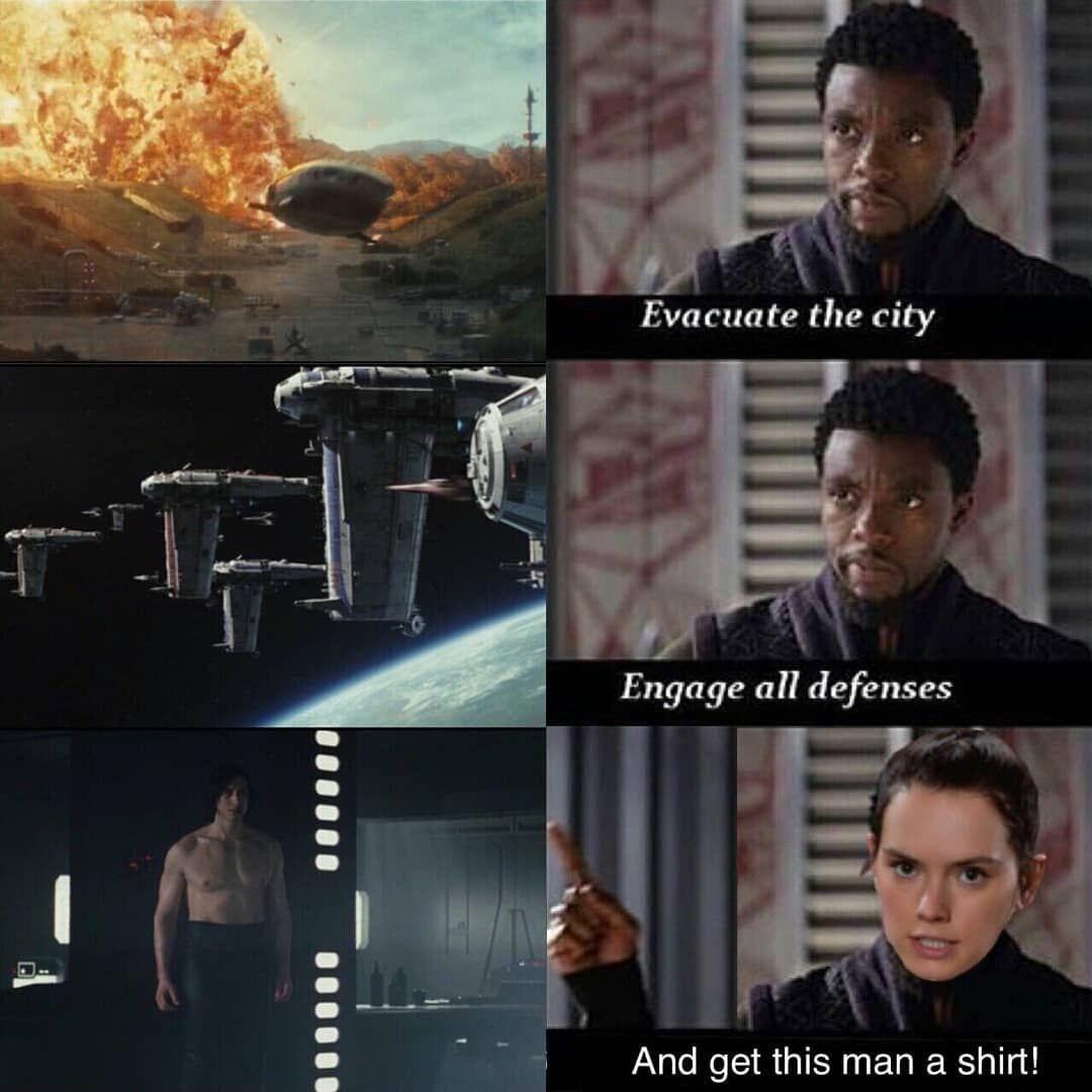 Starwars Starwarsmemes Mcu Rey Blackpanther Prequelmemes Sequelmemes Memes Meme Dank Star Wars Humor Funny Star Wars Memes Star Wars Memes
