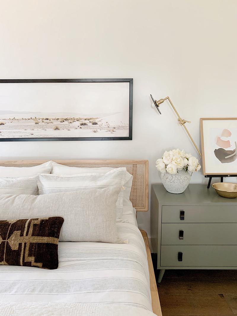Evergreen House Master Bedroom Reveal Bedroom Interior Neutral