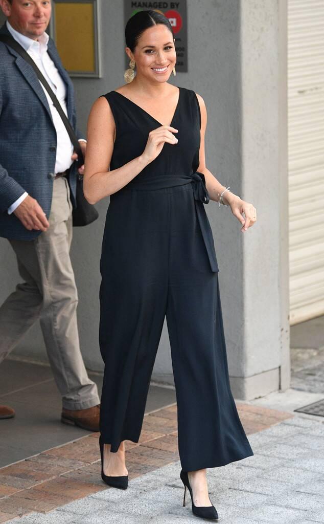 meghan markle s best jumpsuit fashion moments dress like a duchess in 2020 meghan markle style meghan markle outfits fashion meghan markle style