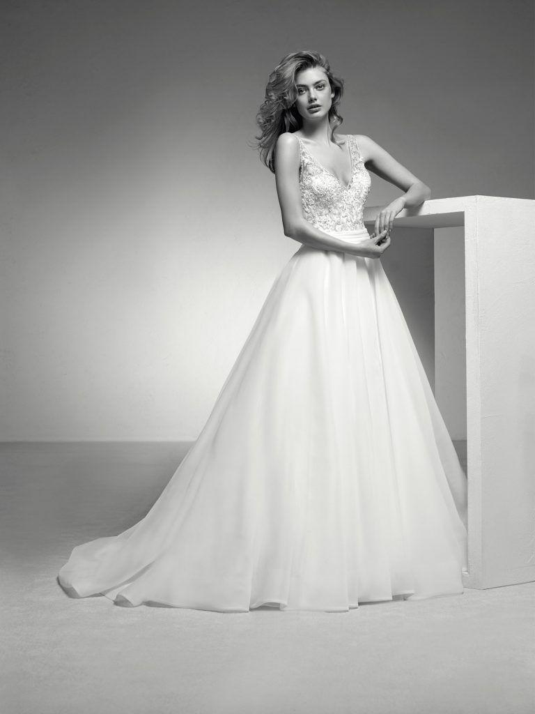 Rückenausschnitt – Happy Brautmoden  Ballkleid hochzeit