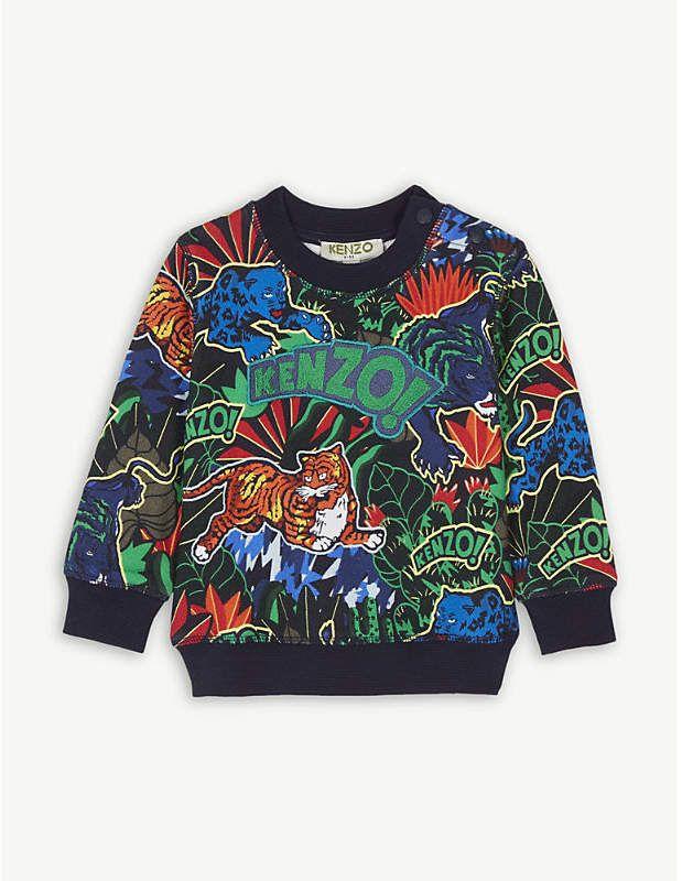 fee799d2 KENZO Jungle cotton sweatshirt 6-18 months in 2019 | illustration ...