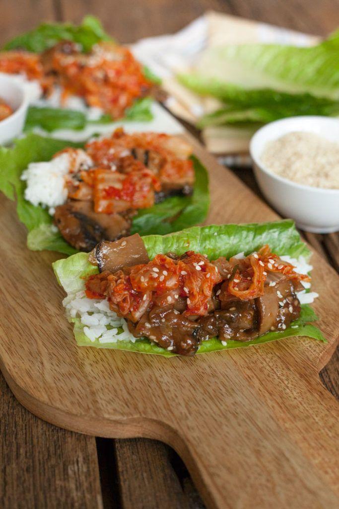 Bulgogi Mushroom Lettuce Wraps in an Instant Pot | VEGAN ...