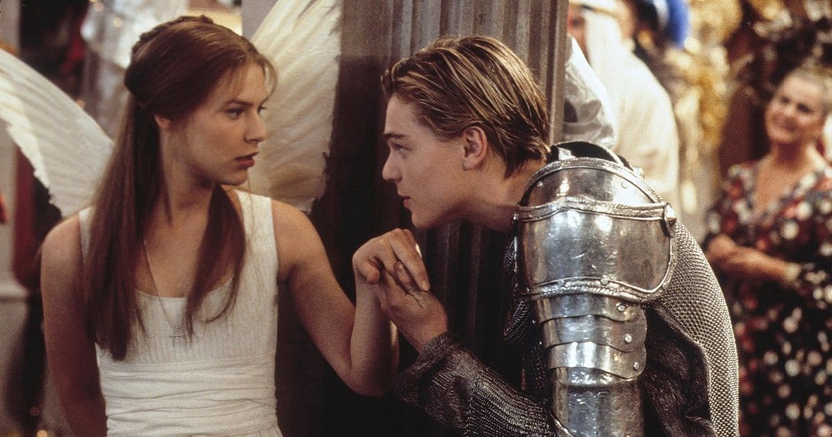 Shakespeare had a hell of a run in the Nineties, from the riot grrrl shrew-taming of  Ten Things I Hate About You  to Keanu as Prince Hal in  My Own Private Idaho . But Baz Luhrmann really did the Bard proud with his MTV take on the tale of star-crossed lovers, snagging two of the era's glossiest newcomers: Claire Danes, fresh from  My So-Called Life ; and a baby-faced, soon-to-be-superstar Leonardo DiCaprio. It's the play reimagined as a pulp fantasy, complete with guns, drugs, swimm...