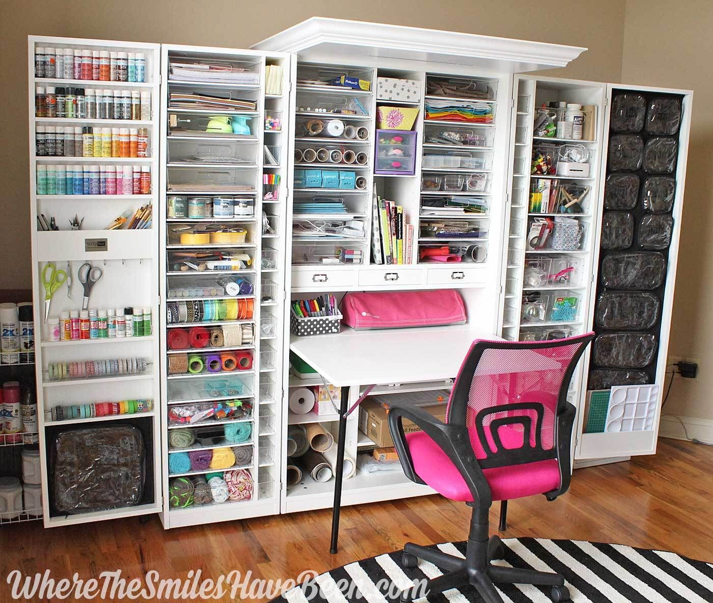 My Workbox 3 0 Review The Good The Bad The Wtf Craft Room Ideas On A Budget Craft Storage Cabinets Craft Storage Ideas For Small Spaces