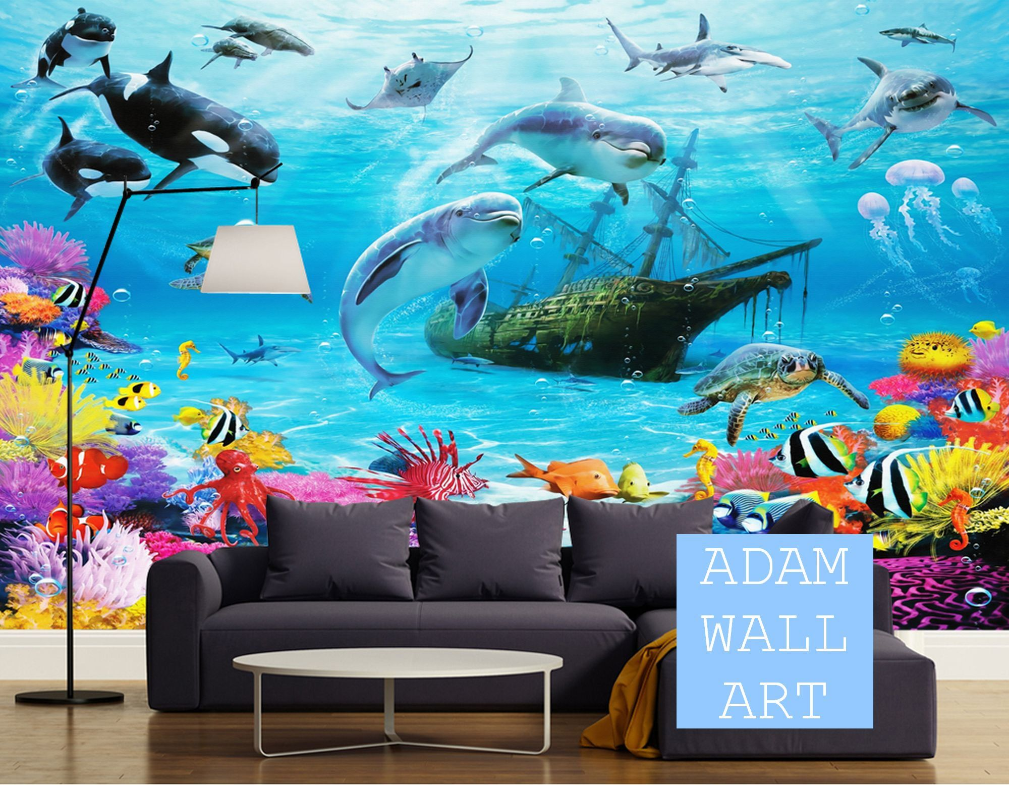 Hot Air Baloon Plane Nursery And Child Room Wallpaper Wall Etsy In 2021 Mural Wallpaper Wallpaper Mural Art 3d wallpaper kids room