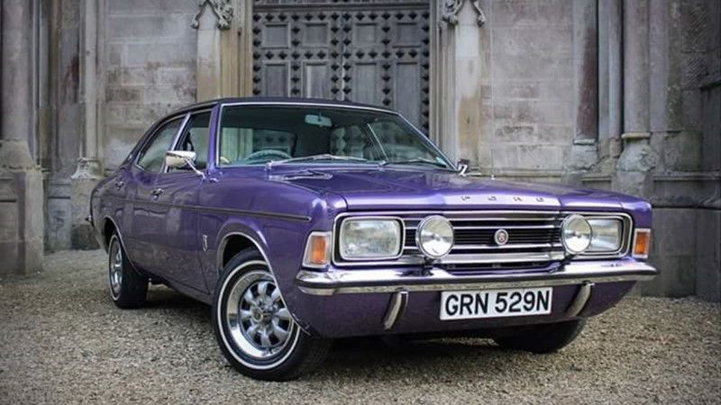 Classic Ford Cortina Wedding Car Hire Verwood Dorset Classic