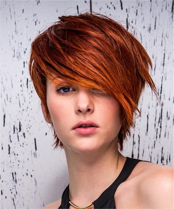 Eric Zemmour Short Red Hairstyles