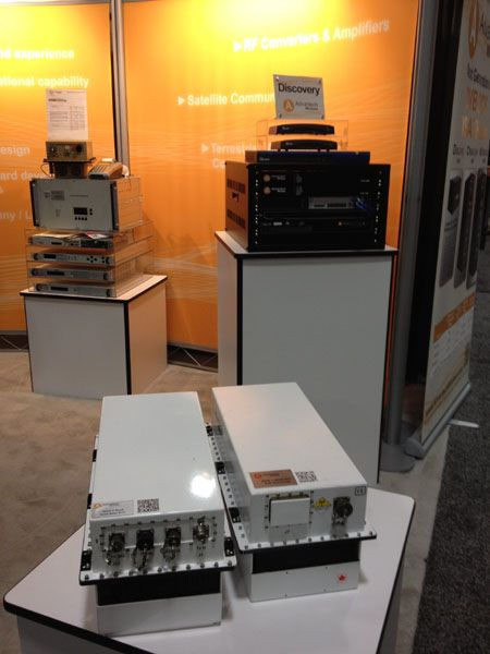 Advantek was promoting the benefits of GaN for high power amplifiers