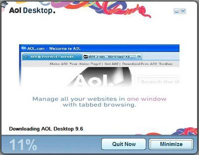 Aol free download 9 6