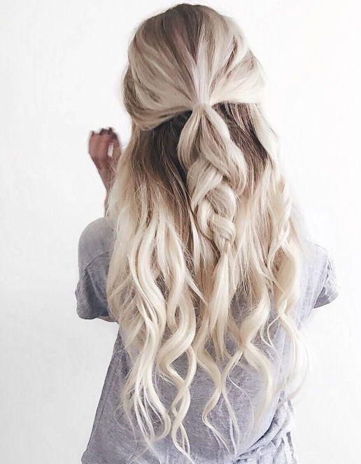 Spring hairstyles for long hair   Styles Power   Hair ...