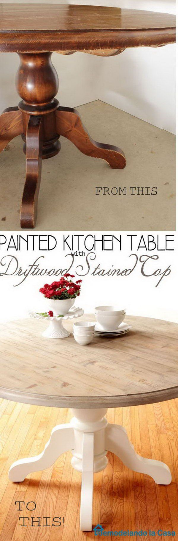 Kitchen Furnitures List 30 Awesome Diy Furniture Makeovers Noted List Pinteres