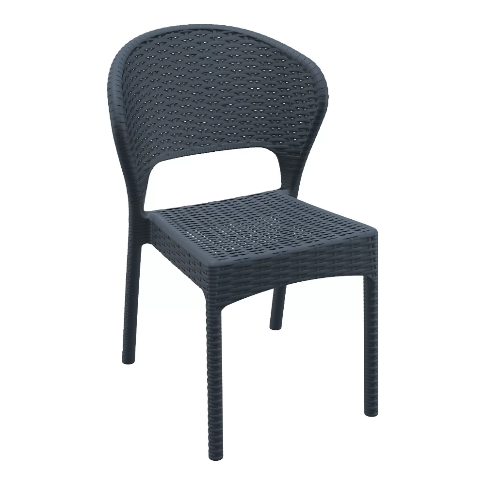 Ketterman Stacking Patio Dining Chair In 2021 Dining Chairs Outdoor Chairs Patio Dining
