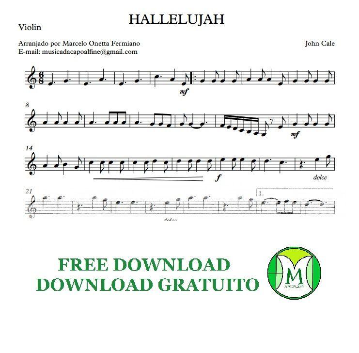 MUSICA.DC.ALFINE ARRANGEMENTS: Hallelujah