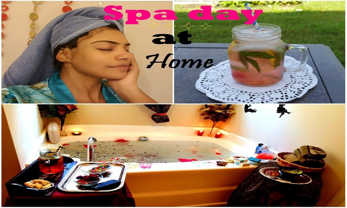 DIY Spa day at home|DIY facemask,body scrub,shaving,shampoo,conditioner ...