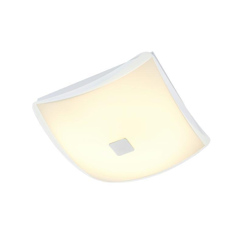 LED Deckenleuchte 30x30 CALOTTA von Nino Opal matt Weiss Jetzt
