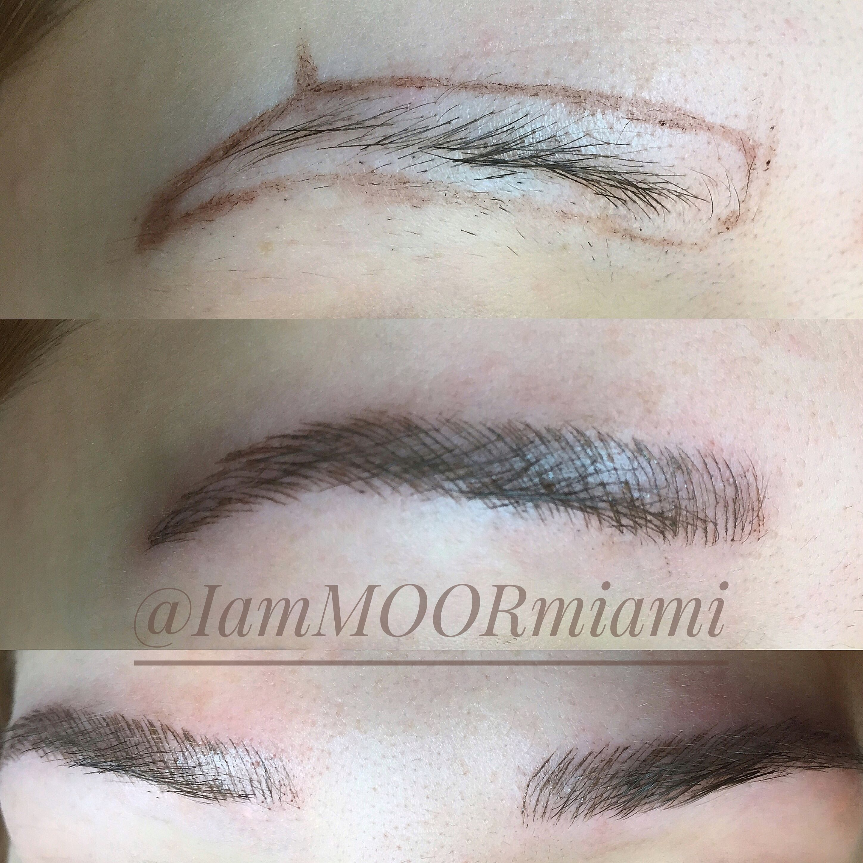 Microblading 1st session! about doing your eyebrows
