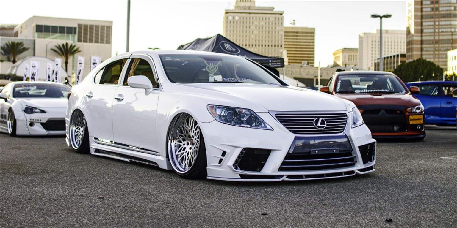 """Lexus LS460 on 22"""" LS01 by Infinitewerks. Click to view"""