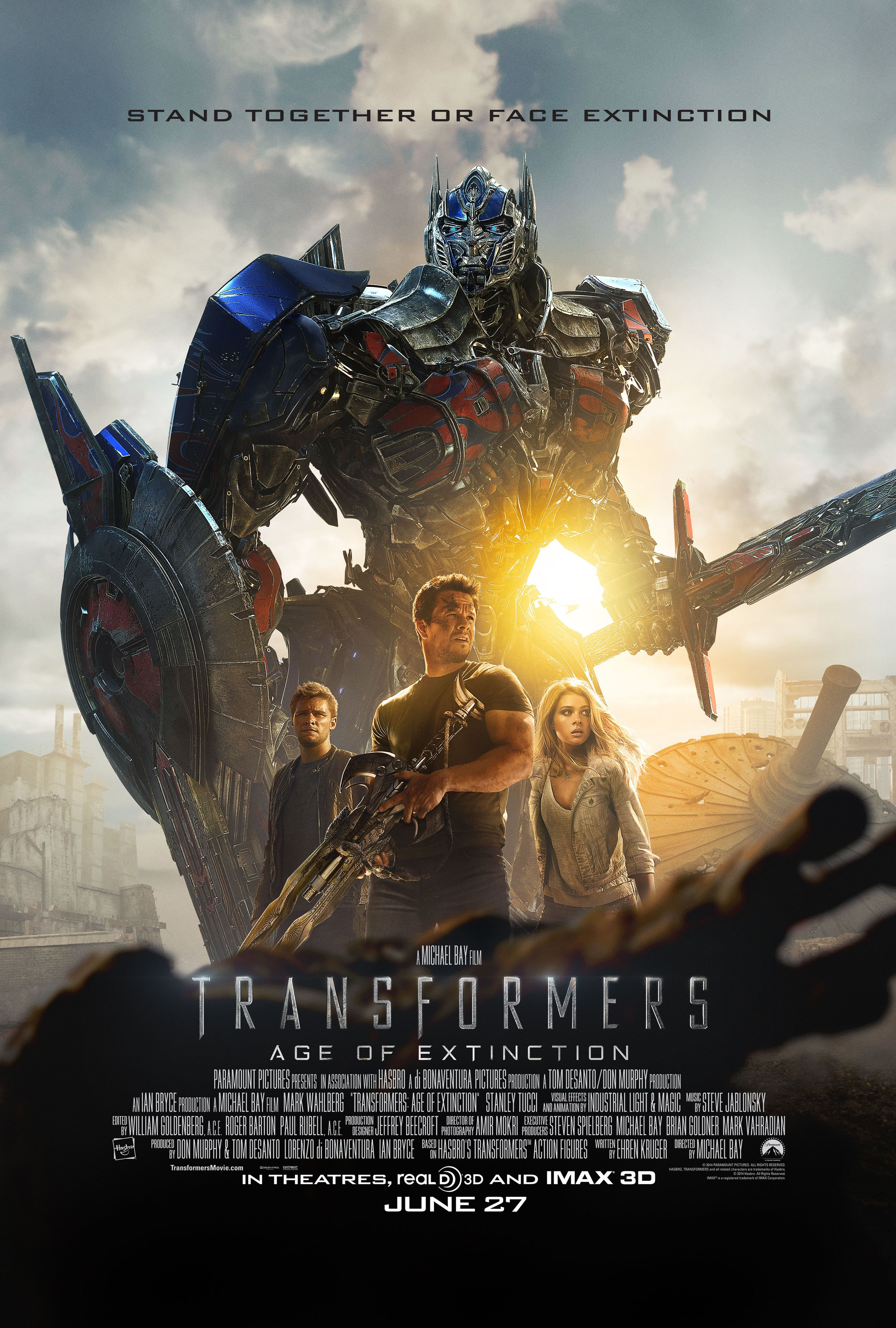transformers: age of extinction trailer 2: a new robot army