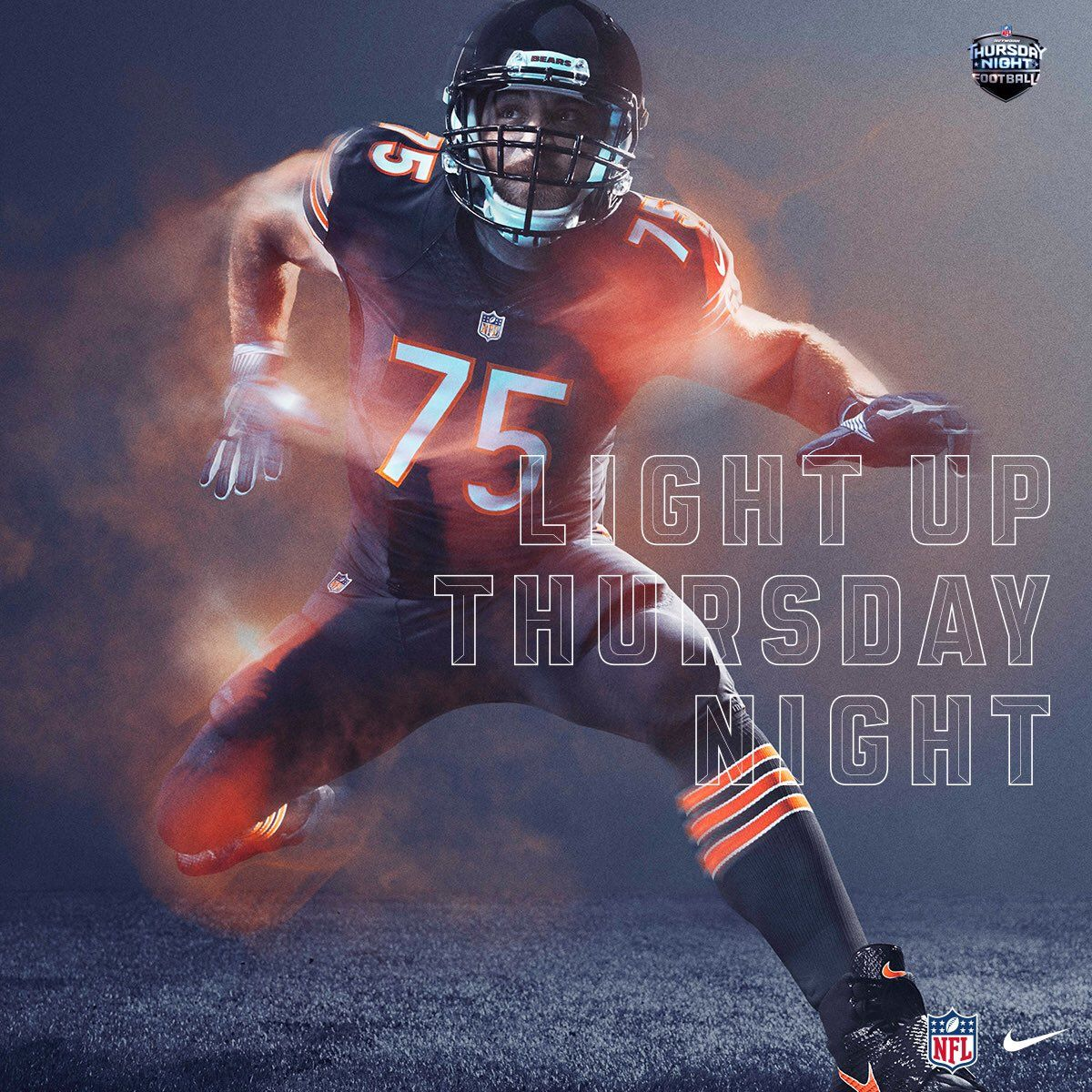 huge discount 1d3ed a94eb Power Ranking all 32 NFL Color Rush Uniforms#6. Chicago ...