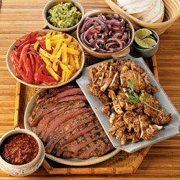 how to cook fajita meat on grill