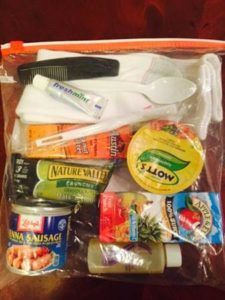 Blessing bags for the homeless contain useful items like snacks, water, and single-size hygiene products. See a list of helpful items to donate. #blessingbags Blessing bags for the homeless contain useful items like snacks, water, and single-size hygiene products. See a list of helpful items to donate. #blessingbags